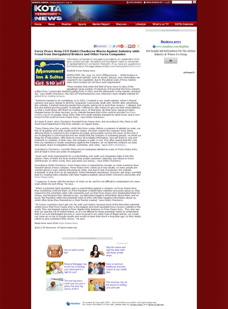 Forex review wordpress theme