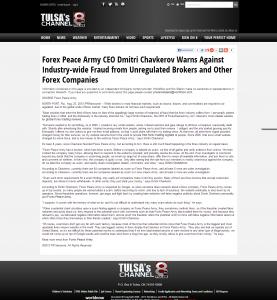 Forex_Peace_Army_KTUL-TV ABC-8 (Tulsa, OK) 6