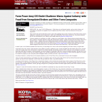 Forex Peace Army | Unregulated Forex Fraud Press Release in KOTA ABC-3 (Rapid City, SD)