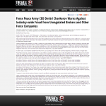 Forex Peace Army | Unregulated Forex Fraud Press Release in KTUL-TV ABC-8 (Tulsa, OK)