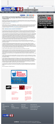 Dmitri Chavkerov - Add Blue Fire Protocol to your Trader Toolbox -  KALB-TV CBS-2 / NBC-5 (Alexandria, LA)