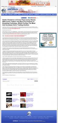 Dmitri Chavkerov - Add Blue Fire Protocol to your Trader Toolbox -  KATV-TV ABC-7 (Little Rock, AR)