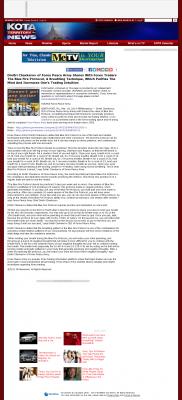 Dmitri Chavkerov - Add Blue Fire Protocol to your Trader Toolbox -  KDUH-TV ABC-3 (Scottsbluff, NE)