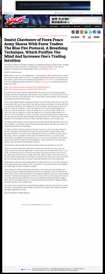 Dmitri Chavkerov - Add Blue Fire Protocol to your Trader Toolbox -  KFMB 100.7 Jack-FM (San Diego, CA)