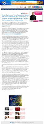 Dmitri Chavkerov - Add Blue Fire Protocol to your Trader Toolbox -  KFMB-TV CBS-8 (San Diego, CA)