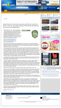 Dmitri Chavkerov - Add Blue Fire Protocol to your Trader Toolbox -  KING-TV NBC-5 (Seattle, WA)