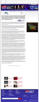 Dmitri Chavkerov - Add Blue Fire Protocol to your Trader Toolbox -  KMEG-TV CBS-14 (Sioux City, IA)