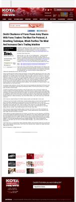 Dmitri Chavkerov - Add Blue Fire Protocol to your Trader Toolbox -  KOTA ABC-3 (Rapid City, SD)