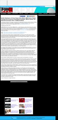 Dmitri Chavkerov - Add Blue Fire Protocol to your Trader Toolbox -  KTVG-TV FOX-17 / KSNB-TV FOX-4 (Kearney, NE)