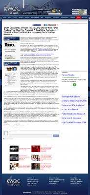 Dmitri Chavkerov - Add Blue Fire Protocol to your Trader Toolbox -  KWQC NBC-6 (Davenport, IA)