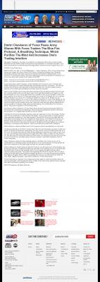 Dmitri Chavkerov - Add Blue Fire Protocol to your Trader Toolbox -  KXXV-TV ABC-25 (Waco, TX)