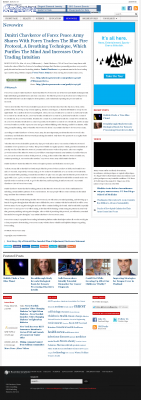 Dmitri Chavkerov - Add Blue Fire Protocol to your Trader Toolbox -  Outcome Magazine
