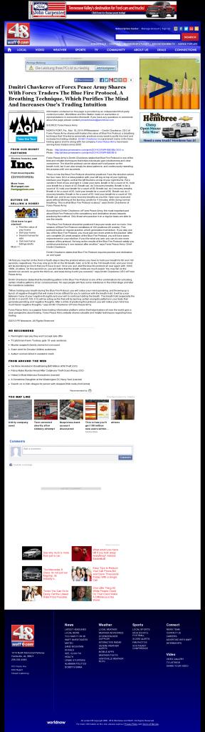 Dmitri Chavkerov - Add Blue Fire Protocol to your Trader Toolbox - WAFF NBC-48 (Huntsville, AL)