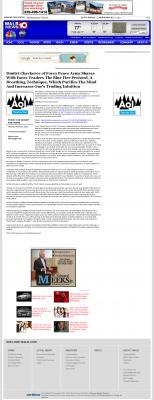 Dmitri Chavkerov - Add Blue Fire Protocol to your Trader Toolbox -  WALB NBC-10 (Albany, GA)