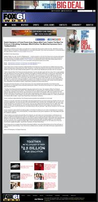 Dmitri Chavkerov - Add Blue Fire Protocol to your Trader Toolbox -  WDSI-TV FOX-61 (Chattanooga, TN)