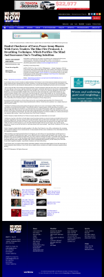 Dmitri Chavkerov - Add Blue Fire Protocol to your Trader Toolbox -  WLBT NBC-3 (Jackson, MS)