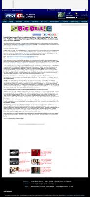 Dmitri Chavkerov - Add Blue Fire Protocol to your Trader Toolbox -  WMDT-TV ABC-47 /CW-3 (Salisbury, MD)