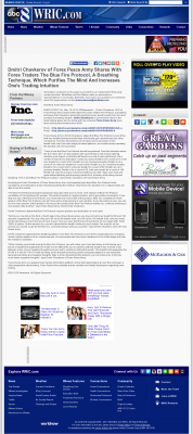 Dmitri Chavkerov - Add Blue Fire Protocol to your Trader Toolbox -  WRIC ABC-8 (Richmond, VA)