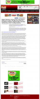 Dmitri Chavkerov - Add Blue Fire Protocol to your Trader Toolbox -  WSFX-TV FOX-26 (Wilmington, NC)